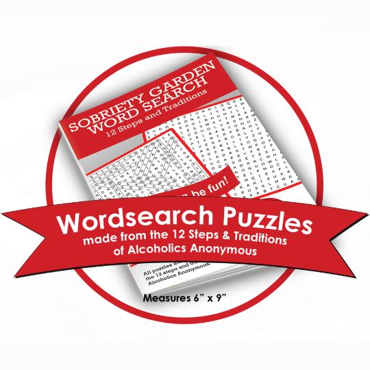 Sobriety Garden Word Search