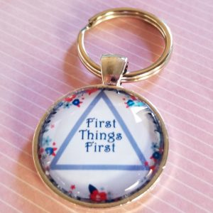 first things first red white and blue aa triangle-3