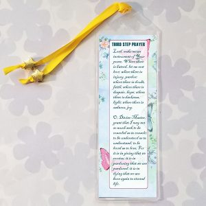 Bookmark with AA's 3rd Step Prayer