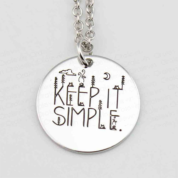 Charm necklace - Keep It Simple