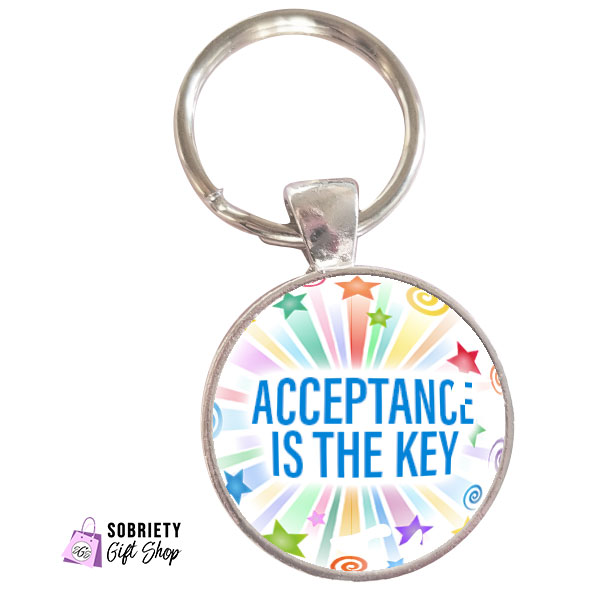 Keychain-with-Starburst-Design---Acceptance-is-the-key