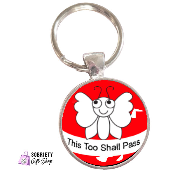 Keychain-with-cute-bugs---This-too-shall-pass