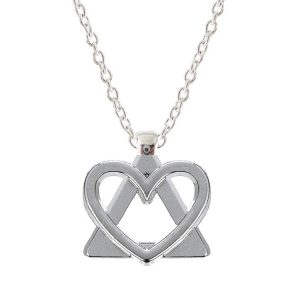 I Heart AA necklace