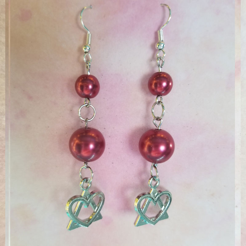 dangle-earrings-with-red-beads-and-I-heart-AA-charms