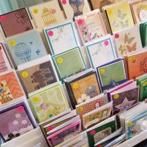 Handmade sobriety cards